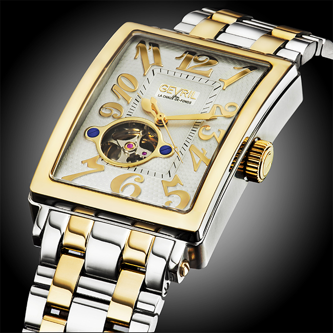 Gevril Avenue of Americas Intravedere Watch Collection